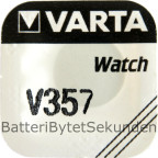 357 / SR44W VARTA 1.55V Klockbatteri