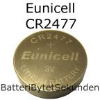 CR2477 Eunicell Litium 3V