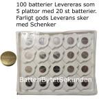 CR2477 100-Pack Eunicell Litium 3V