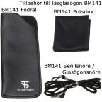 Putsduk, Fodral, Senilsnöre - Tillbehör till läsglasögon BM141