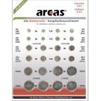 Mix AG1 AG3 AG4 AG5 AG10 AG13 CR1620 CR2016 CR2025 CR2032 Arcas