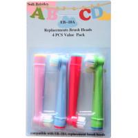 Oral-B kompatibla Stages Power Kids 4-Pack Tandborsthuvud barn