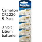 CR1220 5-Pack Camelion Litium 3 Volt