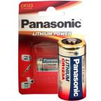 CR123A Litium 3V Fotobatteri Panasonic Högkapacitet Hög effekt