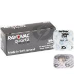 394 10-Pack SR936SW Klockbatteri Rayovac för märkesklockan