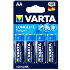 AA 4-Pack VARTA LONGLIFE Power Alkaline 1,5V - LR6 / AA 4906