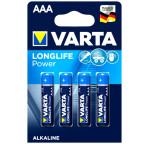 AAA 4-Pack VARTA LONGLIFE Power Alkaline 1,5V - LR03 / AAA 4903