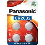 CR2032 4-Pack Panasonic Litium 3V