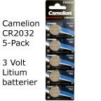 CR2032 5-Pack Camelion Litium 3 Volt